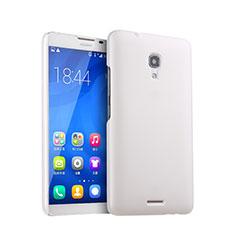 Custodia Plastica Rigida Opaca per Huawei Ascend Mate 2 Bianco