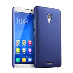 Custodia Plastica Rigida Opaca per Huawei Ascend Mate 2 Blu