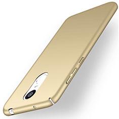 Custodia Plastica Rigida Opaca per Huawei Enjoy 6 Oro