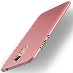 Custodia Plastica Rigida Opaca per Huawei Enjoy 6 Oro Rosa