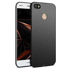 Custodia Plastica Rigida Opaca per Huawei Enjoy 7 Nero