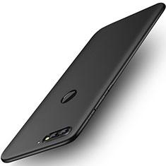 Custodia Plastica Rigida Opaca per Huawei Enjoy 8 Nero