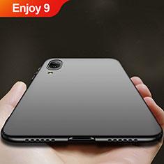 Custodia Plastica Rigida Opaca per Huawei Enjoy 9 Nero