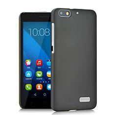 Custodia Plastica Rigida Opaca per Huawei G Play Mini Grigio