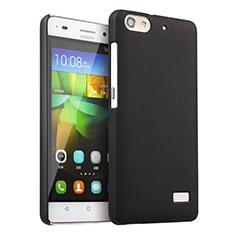 Custodia Plastica Rigida Opaca per Huawei G Play Mini Nero