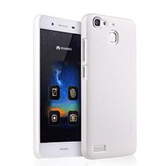 Custodia Plastica Rigida Opaca per Huawei G8 Mini Bianco