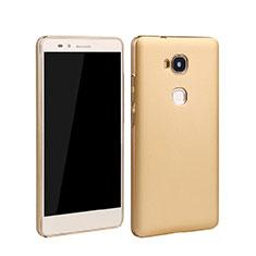 Custodia Plastica Rigida Opaca per Huawei GR5 Oro