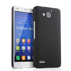Custodia Plastica Rigida Opaca per Huawei Honor 3X G750 Nero