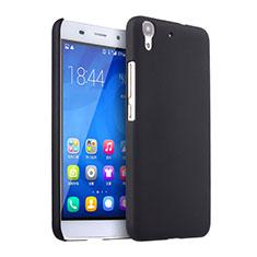 Custodia Plastica Rigida Opaca per Huawei Honor 4A Nero