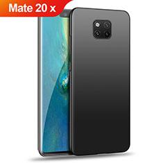 Custodia Plastica Rigida Opaca per Huawei Mate 20 X Nero
