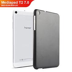 Custodia Plastica Rigida Opaca per Huawei Mediapad T2 7.0 BGO-DL09 BGO-L03 Nero