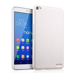 Custodia Plastica Rigida Opaca per Huawei MediaPad X2 Bianco