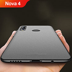 Custodia Plastica Rigida Opaca per Huawei Nova 4 Nero