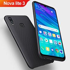Custodia Plastica Rigida Opaca per Huawei Nova Lite 3 Nero