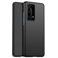Custodia Plastica Rigida Opaca per Huawei P40 Pro+ Plus Nero