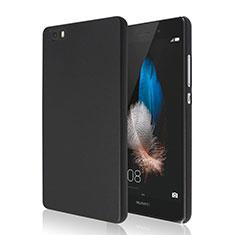 Custodia Plastica Rigida Opaca per Huawei P8 Lite Nero