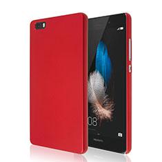 Custodia Plastica Rigida Opaca per Huawei P8 Lite Rosso