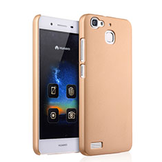 Custodia Plastica Rigida Opaca per Huawei P8 Lite Smart Oro