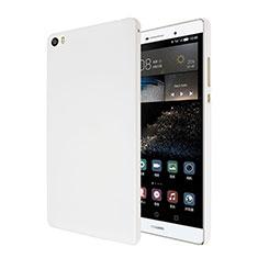 Custodia Plastica Rigida Opaca per Huawei P8 Max Bianco