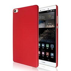 Custodia Plastica Rigida Opaca per Huawei P8 Max Rosso