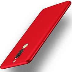 Custodia Plastica Rigida Opaca per Huawei Rhone Rosso