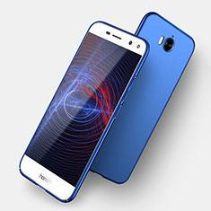 Custodia Plastica Rigida Opaca per Huawei Y6 (2017) Blu