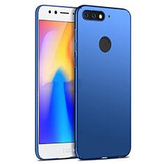 Custodia Plastica Rigida Opaca per Huawei Y6 Prime (2018) Blu