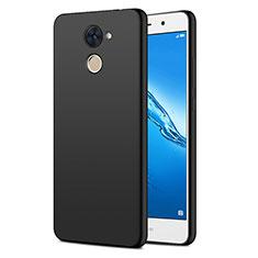 Custodia Plastica Rigida Opaca per Huawei Y7 Prime Nero