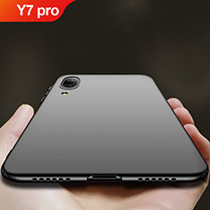 Custodia Plastica Rigida Opaca per Huawei Y7 Pro (2019) Nero
