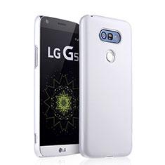Custodia Plastica Rigida Opaca per LG G5 Bianco