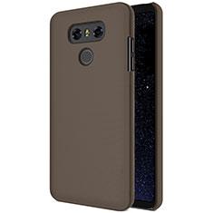 Custodia Plastica Rigida Opaca per LG G6 Marrone