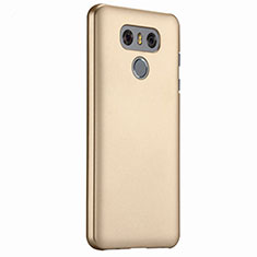 Custodia Plastica Rigida Opaca per LG G6 Oro