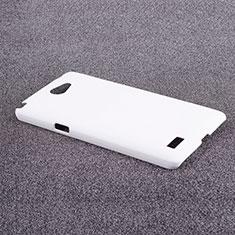 Custodia Plastica Rigida Opaca per LG L Bello 2 Bianco
