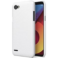 Custodia Plastica Rigida Opaca per LG Q6 Bianco