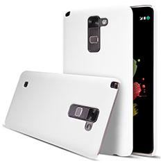 Custodia Plastica Rigida Opaca per LG Stylus 2 Plus Bianco
