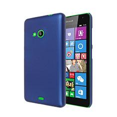 Custodia Plastica Rigida Opaca per Microsoft Lumia 535 Blu