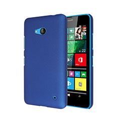 Custodia Plastica Rigida Opaca per Microsoft Lumia 640 Blu