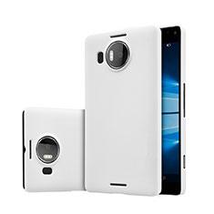 Custodia Plastica Rigida Opaca per Microsoft Lumia 950 XL Bianco