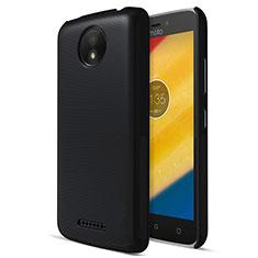 Custodia Plastica Rigida Opaca per Motorola Moto C Plus Nero