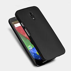 Custodia Plastica Rigida Opaca per Motorola Moto G (2nd Gen) Nero