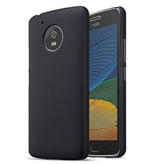Custodia Plastica Rigida Opaca per Motorola Moto G5 Nero