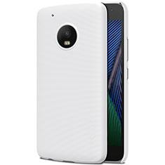 Custodia Plastica Rigida Opaca per Motorola Moto G5 Plus Bianco