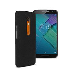 Custodia Plastica Rigida Opaca per Motorola Moto X Play Nero
