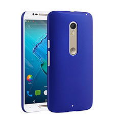Custodia Plastica Rigida Opaca per Motorola Moto X Style Blu