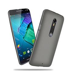 Custodia Plastica Rigida Opaca per Motorola Moto X Style Grigio