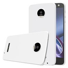 Custodia Plastica Rigida Opaca per Motorola Moto Z Bianco