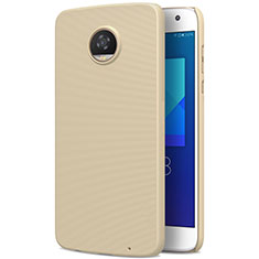 Custodia Plastica Rigida Opaca per Motorola Moto Z2 Play Oro