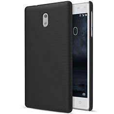 Custodia Plastica Rigida Opaca per Nokia 3 Nero