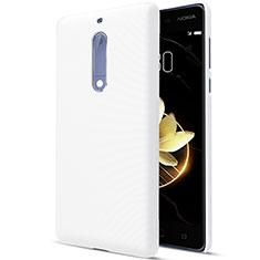 Custodia Plastica Rigida Opaca per Nokia 5 Bianco