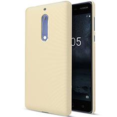 Custodia Plastica Rigida Opaca per Nokia 5 Oro